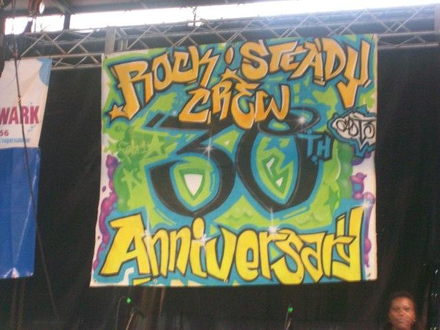 Rocksteady Crew 30 Banner