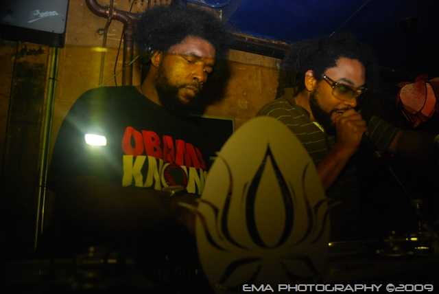 Questlove and Nah Mean
