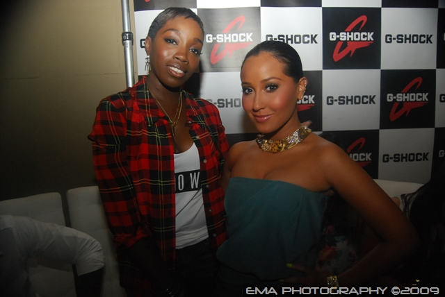Estelle and Adrienne Bailon