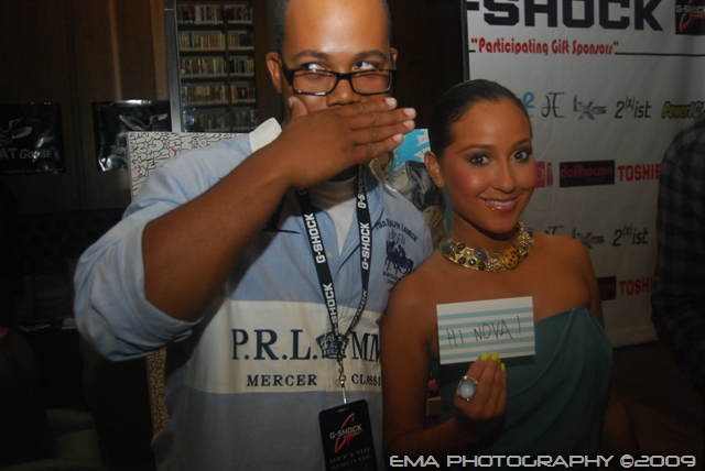 TTK and Adrienne Bailon