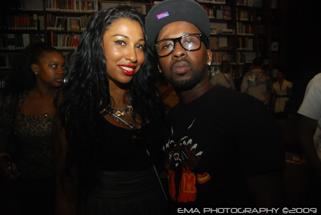 Melanie Fiona and O'Neal McKnight