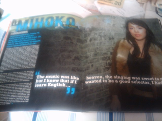 DJ Mihoko feature in Backayard Magazine